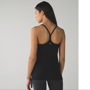 Lululemon Power Y Tank 2/4 Black